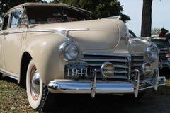 Klassieke Amerikaanse autovoorzijde Stock Afbeelding