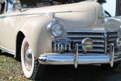 Klassieke Amerikaanse autovoorzijde Stock Foto's