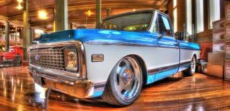 Klassieke Amerikaanse Chevy-pick-up Stock Foto's