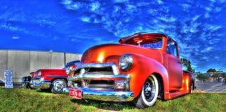 Klassieke Amerikaanse Chevy-vrachtwagen Royalty-vrije Stock Afbeeldingen