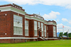 Klassieke Amerikaanse Middelbare school Royalty-vrije Stock Foto