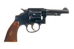Klassieke Amerikaanse Revolver Stock Foto's