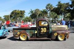 Klassieke Amerikaanse vrachtwagen stock afbeelding