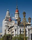 Klassieke architectuur in Buenos aires Stock Fotografie