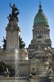 Klassieke architectuur in Buenos aires Royalty-vrije Stock Foto's