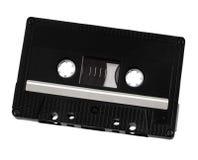 Klassieke audiocassette Stock Foto's
