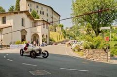Klassieke auto bij de Historische Grand Prix 2017 van Bergamo Royalty-vrije Stock Afbeelding