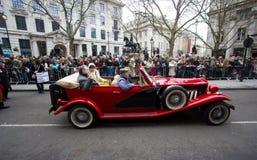 Klassieke Auto bij de Parade van Londen Royalty-vrije Stock Afbeelding