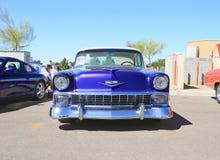 Klassieke Auto: 1956 Chevy Bel Air Stock Foto
