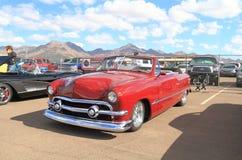 Klassieke auto: 1951 Ford Deluxe Royalty-vrije Stock Afbeelding