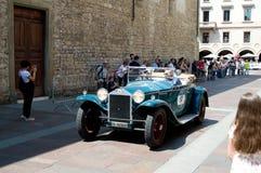Klassieke Auto in Mille Miglia 2016 Stock Foto