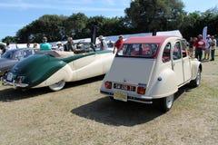 Klassieke auto's Stock Afbeelding