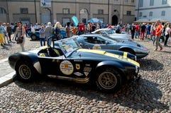 Klassieke auto's bij de Historische Grand Prix 2017 van Bergamo Royalty-vrije Stock Afbeelding