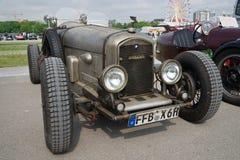 Klassieke auto's bij de lentefestival van München Stock Foto