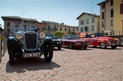 Klassieke auto'satcircuito Di Zingonia 2014 Royalty-vrije Stock Foto's