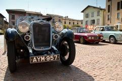 Klassieke auto'satcircuito Di Zingonia 2014 Stock Foto