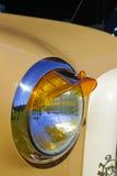 Klassieke autodetails stock afbeelding