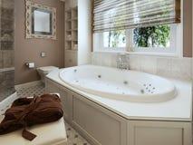 Klassieke badkamers Royalty-vrije Stock Afbeelding