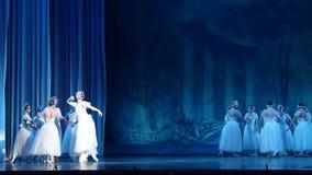 Klassieke balletsylphs stock videobeelden