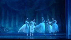 Klassieke balletsylphs stock video