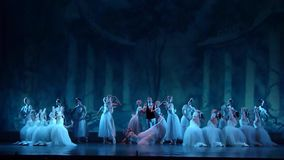 Klassieke balletsylphs stock footage