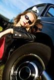 Klassieke bestuurder stock foto