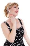 Klassieke blonde speld-omhooggaand Royalty-vrije Stock Foto's