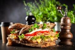 Klassieke BLT-sandwiches royalty-vrije stock foto
