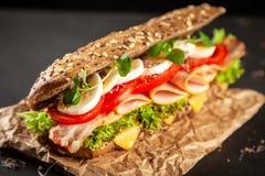 Klassieke BLT-sandwiches royalty-vrije stock afbeeldingen