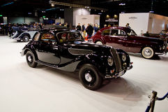 Klassieke BMWs in Milaan Autoclassica 2016 Royalty-vrije Stock Fotografie