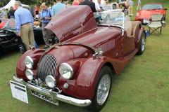 Klassieke Britse convertibele sportwagen Royalty-vrije Stock Afbeeldingen
