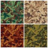 Klassieke Camouflage Stock Foto's