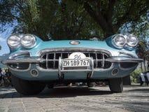 Klassieke cars_2015_Chevrolet Korvet het Zuid- van Tirol C1 Stock Afbeelding