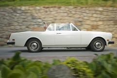 Klassieke cars_ROLLS-ROYCE Corniche Zuid- van Tirol Royalty-vrije Stock Afbeeldingen