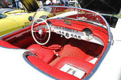 Klassieke Chevrolet-Korvetauto Royalty-vrije Stock Foto