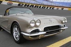 Klassieke Chevrolet-Korvetauto Stock Afbeeldingen