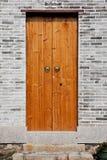 Klassieke Chinese houten deur Royalty-vrije Stock Afbeeldingen