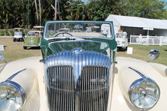 Klassieke de autovoorzijde van Brit Royalty-vrije Stock Afbeelding