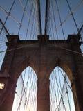 Klassieke de Brugspruit van Brooklyn Royalty-vrije Stock Foto