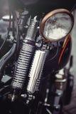 Klassieke de motorfietskoplamp van Chrome Royalty-vrije Stock Foto's