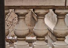 Klassieke de Pijleromheining Above Chicago River van Chicago Stock Foto's
