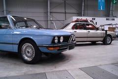 Klassieke Duitse auto's Stock Fotografie