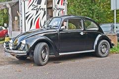 Klassieke Duitse auto Volkswagen Beetle Stock Foto's