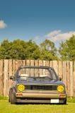 Klassieke Duitse auto, Volkswagen Golf Stock Afbeeldingen