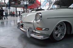 Klassieke Duitse auto, Volkswagen 1600 TL Stock Afbeelding