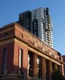 Klassieke en moderne architectuur in Melbourne Royalty-vrije Stock Foto