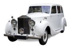 Klassieke Engelse auto stock afbeeldingen