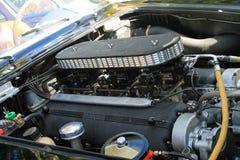 Klassieke ferrarimotor en carburatoren Stock Foto's