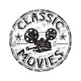 Klassieke films rubberzegel Royalty-vrije Stock Fotografie