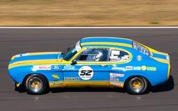 Klassieke Ford Capri-raceauto Stock Afbeelding